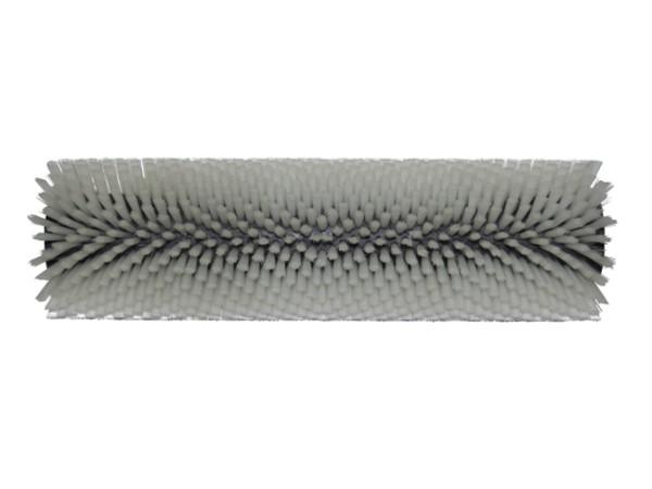 Bürstwalze/Walzenbürste - 320/96/V mit Lager - Nylon 0,30 mm