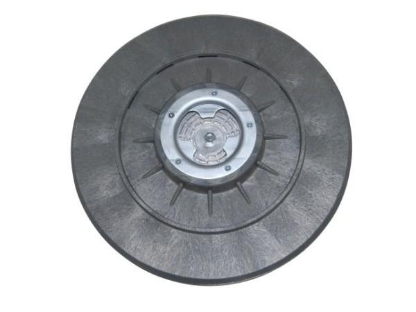 Treibteller für Schleifscheiben - Ø 505 mm mit DOM - Gummi-Haftbelag