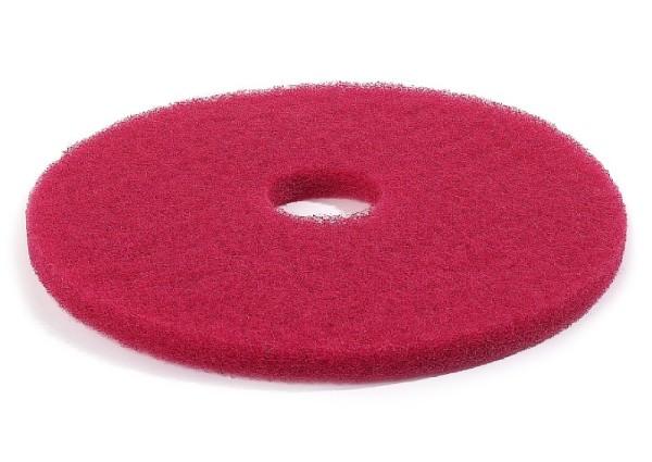 Normal-Bodenreinigungs-Pads -Rot-, Inhalt: 10 Stück