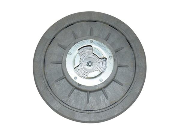 Treibteller - Ø 405 mm, mit Gummi-Haftbelag für Schleifpapier