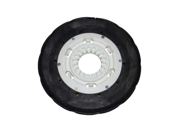 Tellerbürste - Ø 300 mm - PP (Polypropylen) 0,40 mm + PP (Polypropylen) 0,70 mm