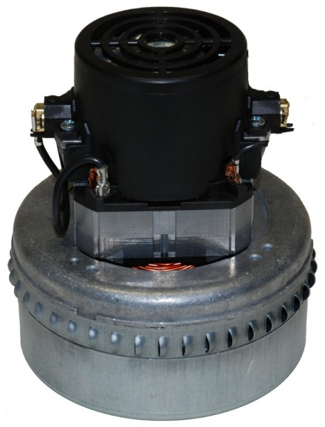 Staubsaugermotor / Saugturbine - 24V, 550 Watt, GH 163 mm, TH 72 mm, TD 144 mm
