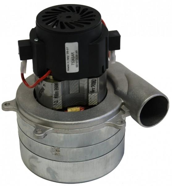 Staubsaugermotor / Saugturbine - 24V, 600 Watt, GH 198 mm, TH 95 mm, TD 144 mm