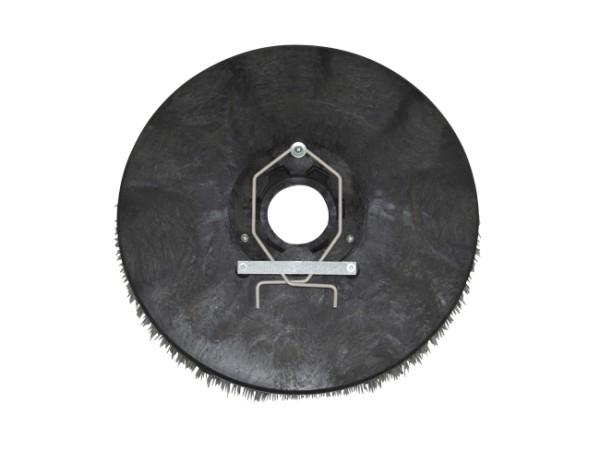 Schleifkorn-Tellerbürste hart – Ø 405 mm, Nylon-Grit 1,5 mm (K40)