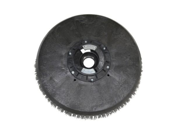 Tellerbürste - Ø 395 mm mit Flansch - Nylon/Grit/Tynex 1,2 m