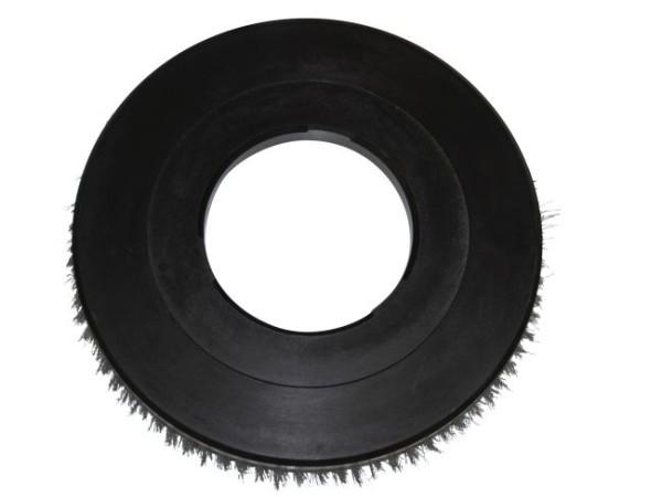 Tellerbürste - Ø 410 mm - ohne Kreuzflansch - Welldraht 0,40 mm