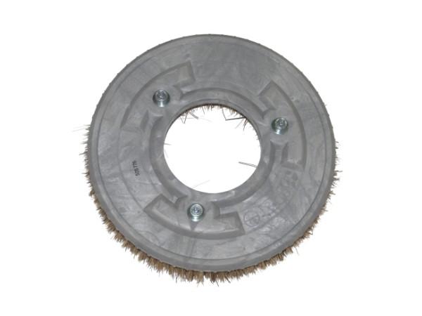 Tellerbürste – Ø 355 mm, Union-Mischung grau/braun