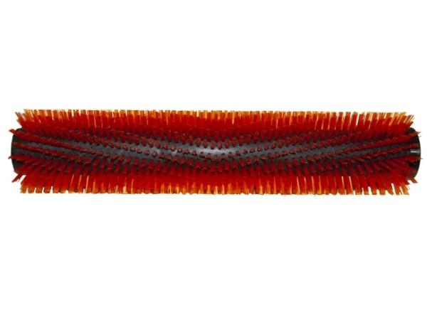 Bürstwalze/Walzenbürste - 445 / 96 mm mit Deckel und Feder - PP (Polypropylen) 0,60 mm