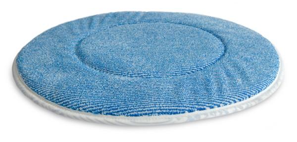 Microfaser-Pad, blau (verschiedene Durchmesser)