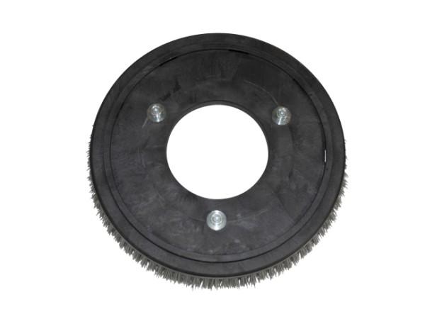 Schleifkorn-Tellerbürste – Ø 355 mm, Nylon-Grit 1,2 mm (K80)