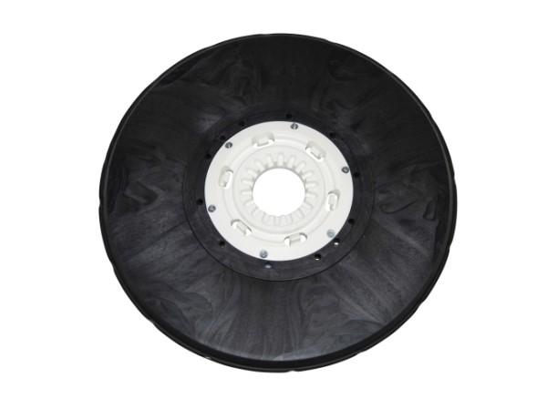 Tellerbürste - Ø 440 mm - 5 Komponenten Borsten-Mix