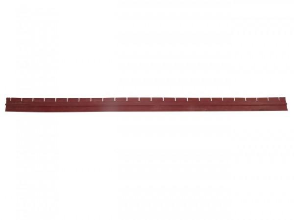 Sauglippe vorne oder hinten, L = 1200 mm (für Saugfuss 1200 mm)