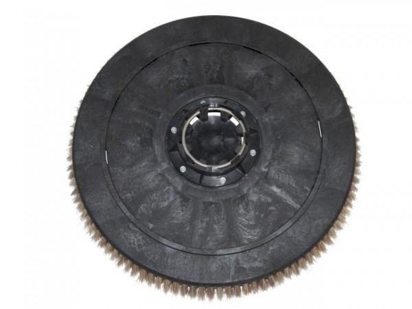 Tellerbürste - Ø 480 mm - PP (Polypropylen) 0,30 mm/5 Komponenten Borsten-Mix (auch unter PES bekann