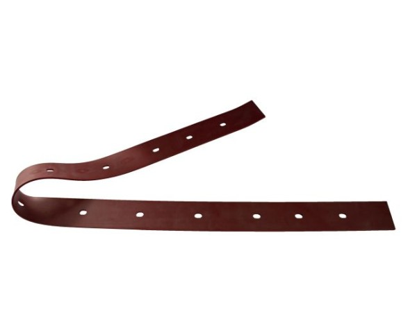 Sauglippe hinten 1167 mm x 54 mm x 3 mm, Para rot