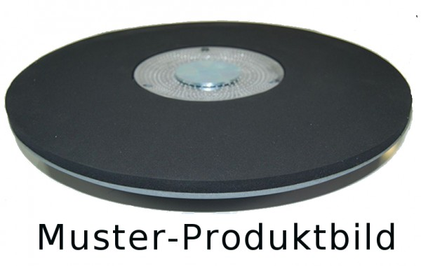 Treibteller für Reinigungspads - Ø 430 mm, mit Gummi-Haftbelag für Schleifpapier