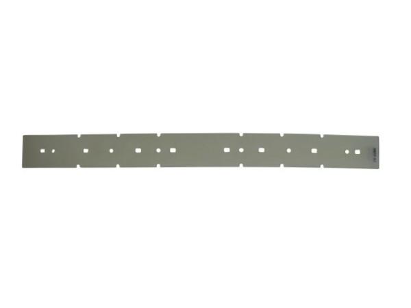 Sauglippe vorne - Nanorade 535 x 50 x 2 mm, PU transparent - Shore 38°