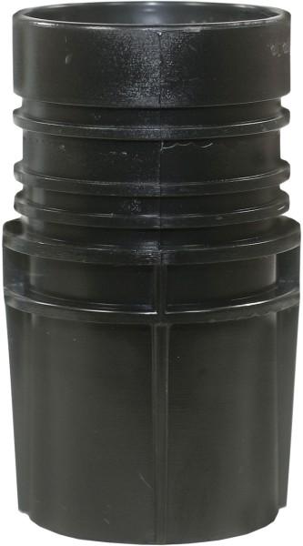 Muffe Kesselseite für 38 mm Saugschlauch (Innendurchmesser)
