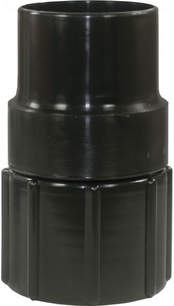 Muffe Zubehörseite für 50 mm Saugschlauch - Schlauchseite drehbar