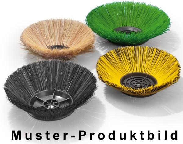 Seitenbesen/Tellerbesen – Ø 250 mm/500 mm/3 Reihen/ohne Metallflansch