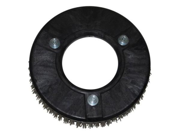 Schleifkorn-Tellerbürste hart – Ø 305 mm, Nylon-Grit 1,5 mm (K40)