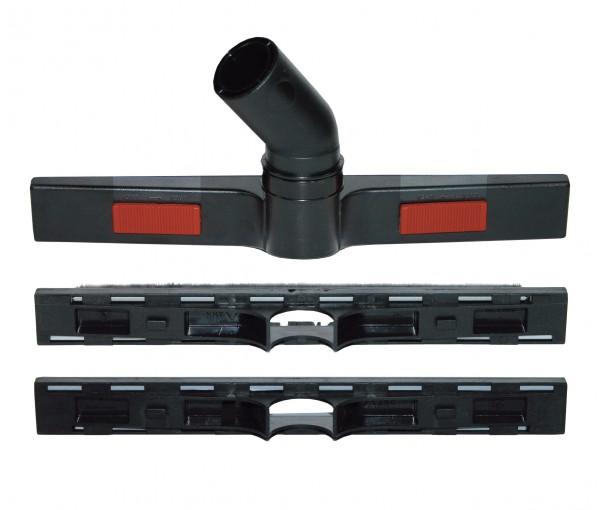 Bodendüsenträger 375 mm, Anschluss 38 mm mit verschiedenen Aufsätzen (Nass/Trocken)