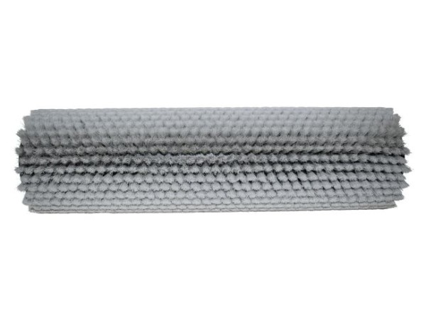 Bürstwalze/Walzenbürste - 350/102 mm - PP (Polypropylen) 0,12 mm grau