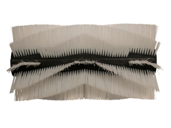 Kehrwalze – 460 mm / 240 mm / 10 Reihen / 2 Halbschalen, (Preis für ein Set = 2 Halbschalen)