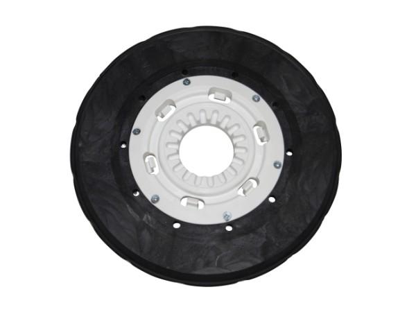 Tellerbürste - Ø 330 mm - PP (Polypropylen) 0,40 mm / PP (Polypropylen) 0,70 mm
