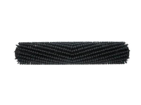 Bürstwalze/Walzenbürste – 445 mm / 96 mm / mit Deckel, Feder und Sternmitnehmer