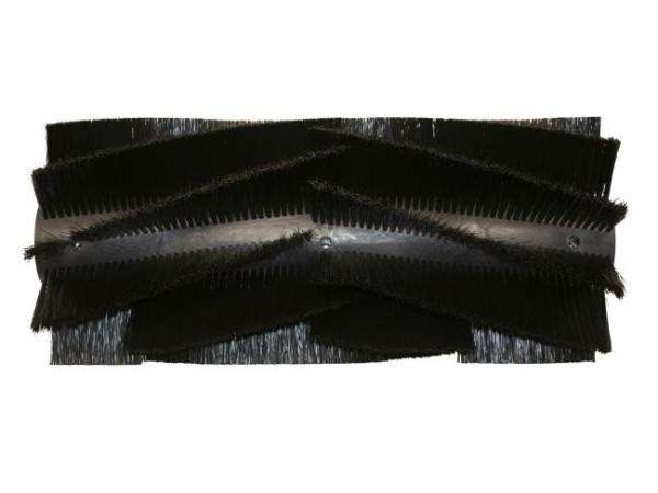 Kehrwalze – 575 mm / 230 mm / 10 Reihen / 2 Halbschalen, (Preis für ein Set = 2 Halbschalen)