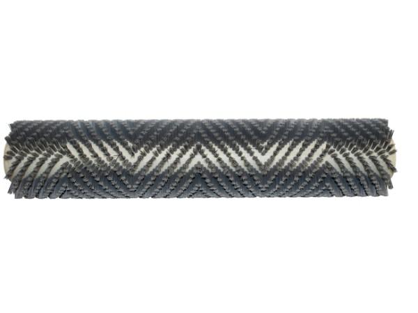 Bürstwalze/Walzenbürste - 462/96/V mit Lager - Grit/Tynex 0,60 mm