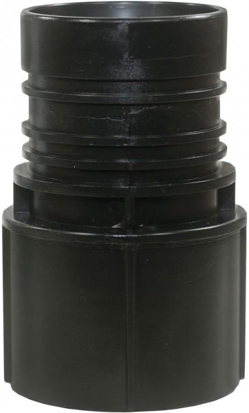 Muffe Kesselseite für 50 mm Saugschlauch (Innendurchmesser)