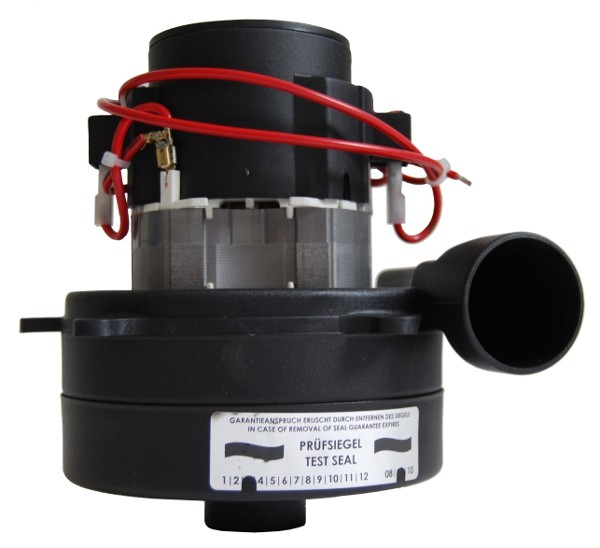 Staubsaugermotor / Saugturbine - 24V, 500 Watt, GH 166 mm, TH 69 mm, TD 144 mm