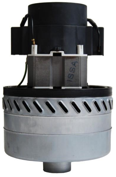 Staubsaugermotor / Saugturbine - 230V, 1300 Watt, GH 196 mm, TH 91 mm, TD 144 mm