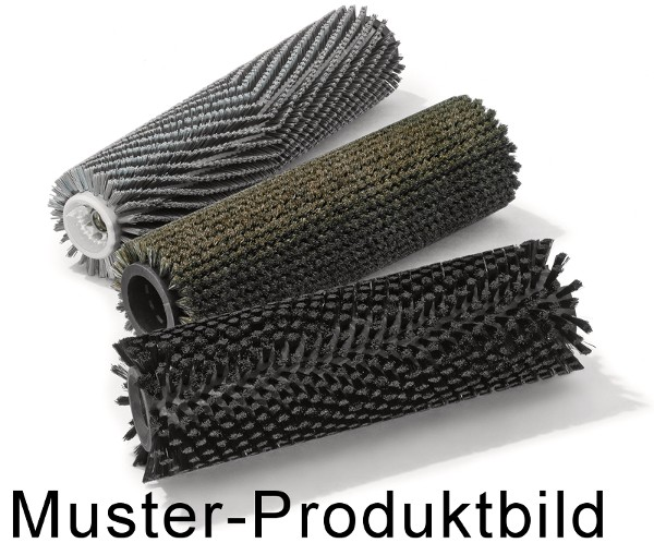 Bürstwalze/Walzenbürste - 585/150/18R/ - PP (Polypropylen) 0,70 mm schwarz