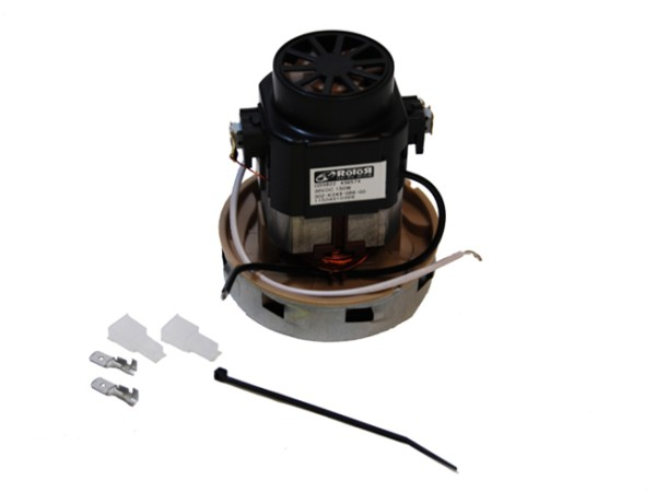 Saugmotor 36 V / 150 W DC S1 110 GH / TBH 34 / D 86 mm, inkl. Stecker