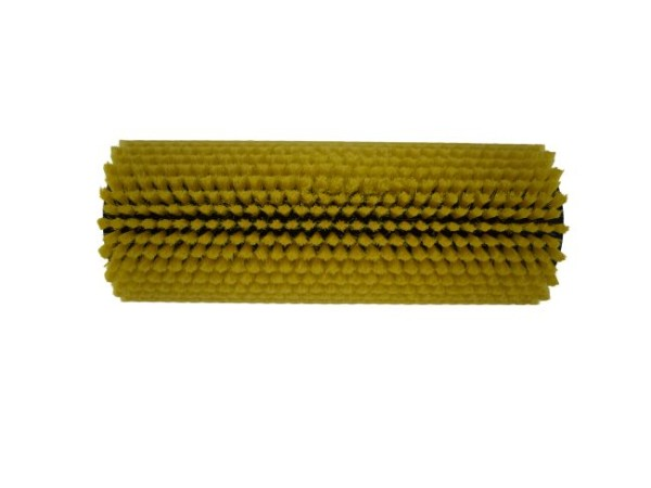 Bürstwalze/Walzenbürste - 270/102 mm - PP (Polypropylen) 0,12 mm gelb
