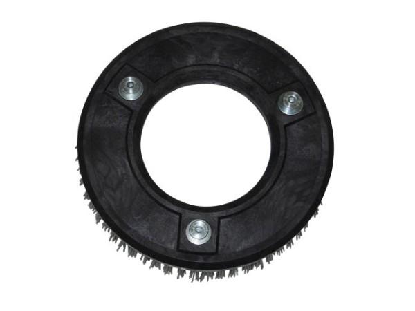 Schleifkorn-Tellerbürste hart – Ø 275 mm, Nylon-Grit 1,6 mm (K40)
