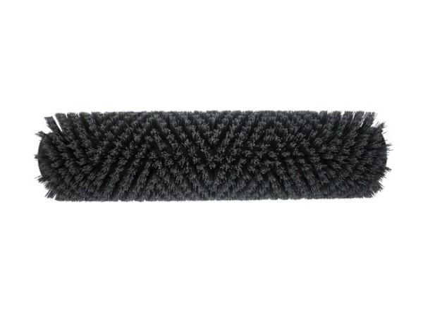 Bürstwalze/Walzenbürste - 340 mm / 96 mm / mit Deckel, Feder und Sternmitnehmer