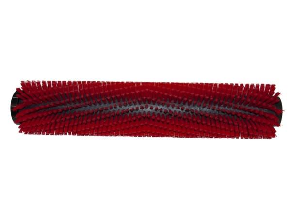 Bürstwalze/Walzenbürste - 445 / 96 mm mit Deckel und Feder - PP (Polypropylen) 0,40 mm