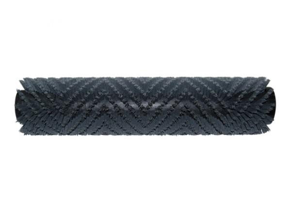 Bürstwalze/Walzenbürste - 400 mm / 96 mm / mit Deckel, Feder und Sternmitnehmer - Grit/Tynex 0,60 mm
