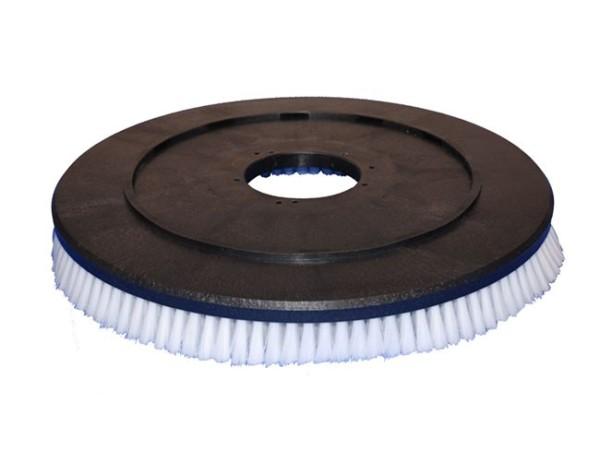 Tellerbürste - Ø 535/550 mm - PP (Polypropylen) 0,30 mm weiss