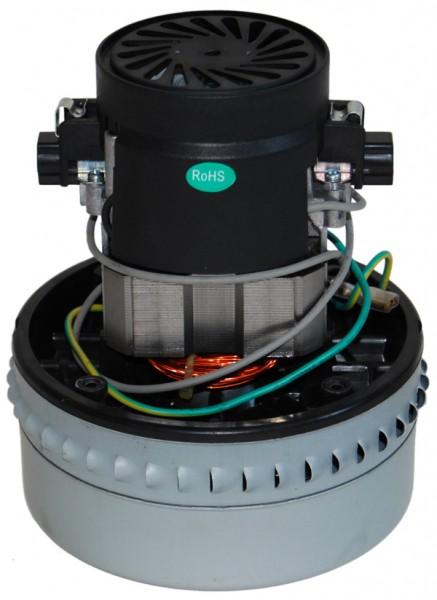 Staubsaugermotor / Saugturbine - 230V, 1200 Watt, GH 175 mm, TH 71 mm, TD 144 mm, mit Erdung & Therm