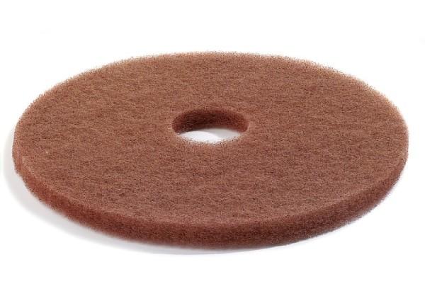 Normal-Bodenreinigungs-Pads -Hellbraun-, Inhalt: 10 Stück