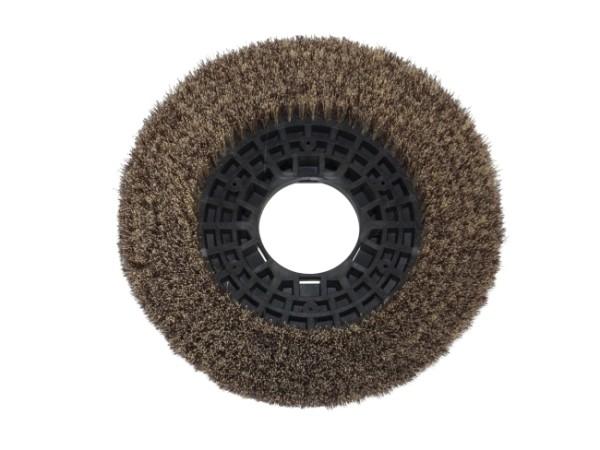 Tellerbürste - Ø 305 mm - PP (Polypropylen) 0,30 mm / 5 Komponenten Borsten-Mix